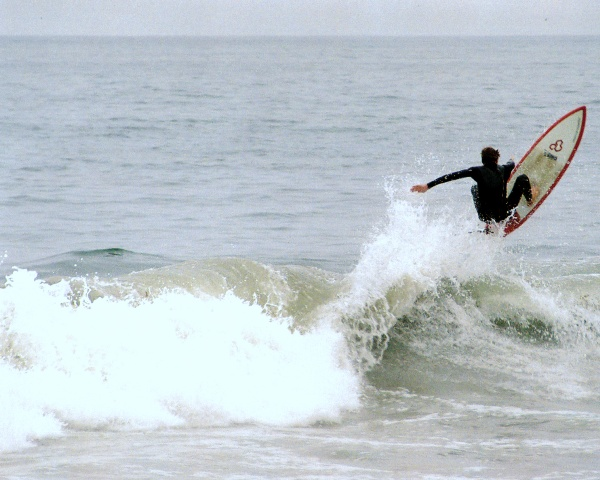 Surbrett: Wellenreiten